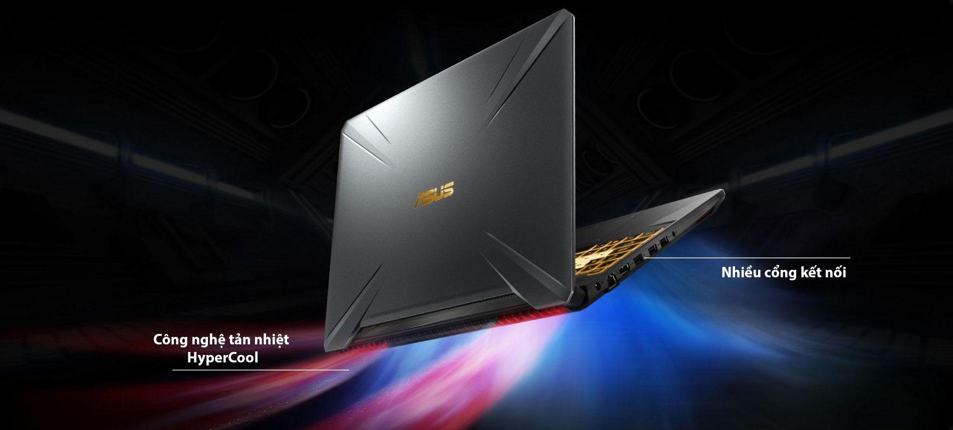 Asus Gaming TUF FX506LH-HN002T Core i5-10300H/8GB/512GB NVMe/15.6 FHD 144Hz/GTX1650 4GB/Win10/Xám